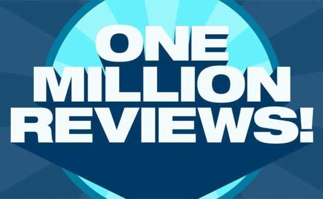 1 million practitioner reviews and counting!!
